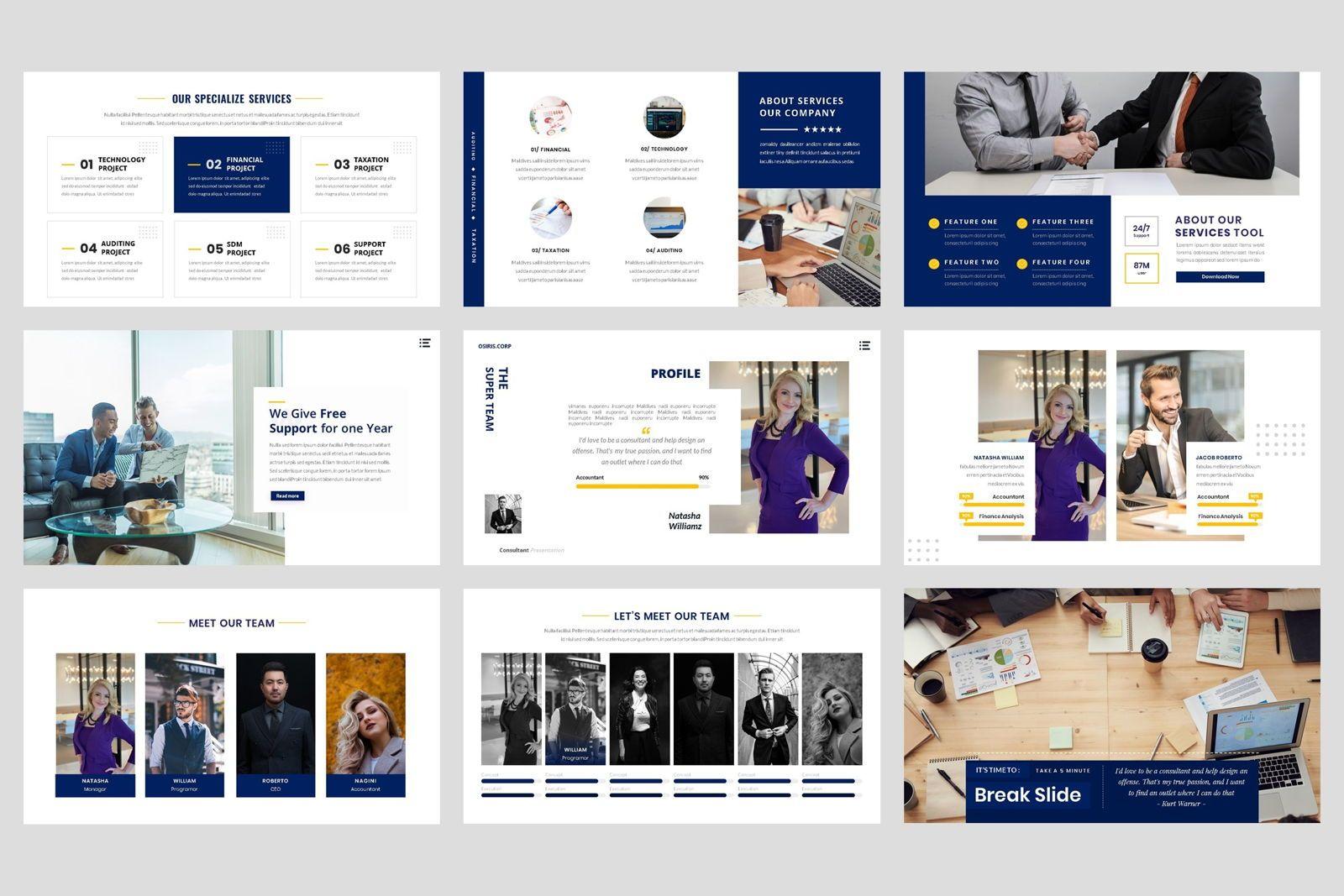 Business - Consultant Finance PowerPoint Template, Slide 3, 08597, Presentation Templates — PoweredTemplate.com