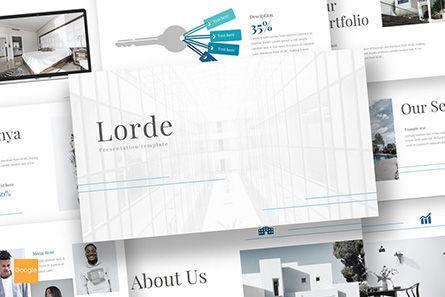 Presentation Templates: Lorde - Google Slides Template #08598