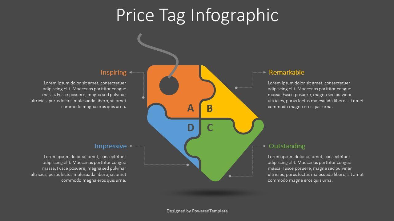 Price Tag Infographic, Slide 2, 08605, Infographics — PoweredTemplate.com