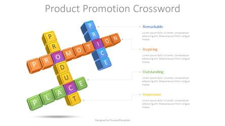 Puzzle Diagrams: Product Promotion Crossword #08611