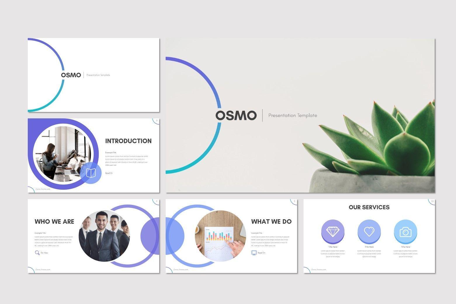 Osmo - Keynote Template, Slide 2, 08613, Presentation Templates — PoweredTemplate.com