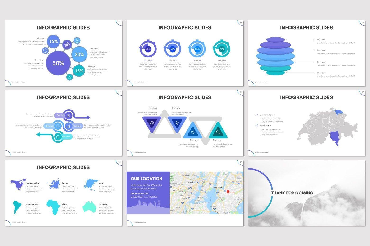 Osmo - Keynote Template, Slide 5, 08613, Presentation Templates — PoweredTemplate.com