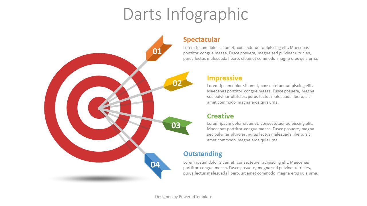 Goal Achievement Infographic, 08614, Infographics — PoweredTemplate.com