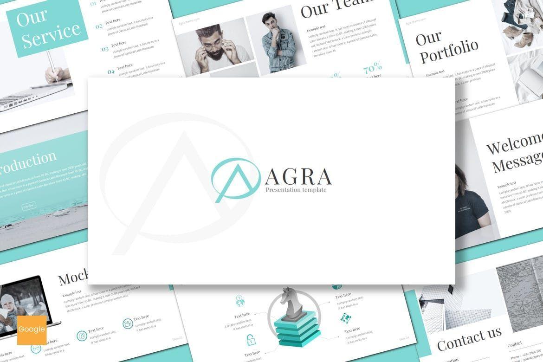 Agra - Google Slides Template, 08615, Presentation Templates — PoweredTemplate.com