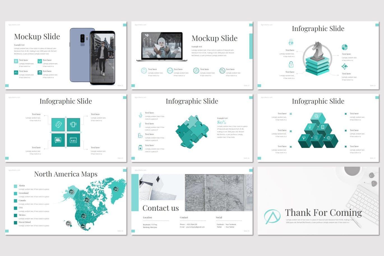 Agra - Google Slides Template, Slide 5, 08615, Presentation Templates — PoweredTemplate.com