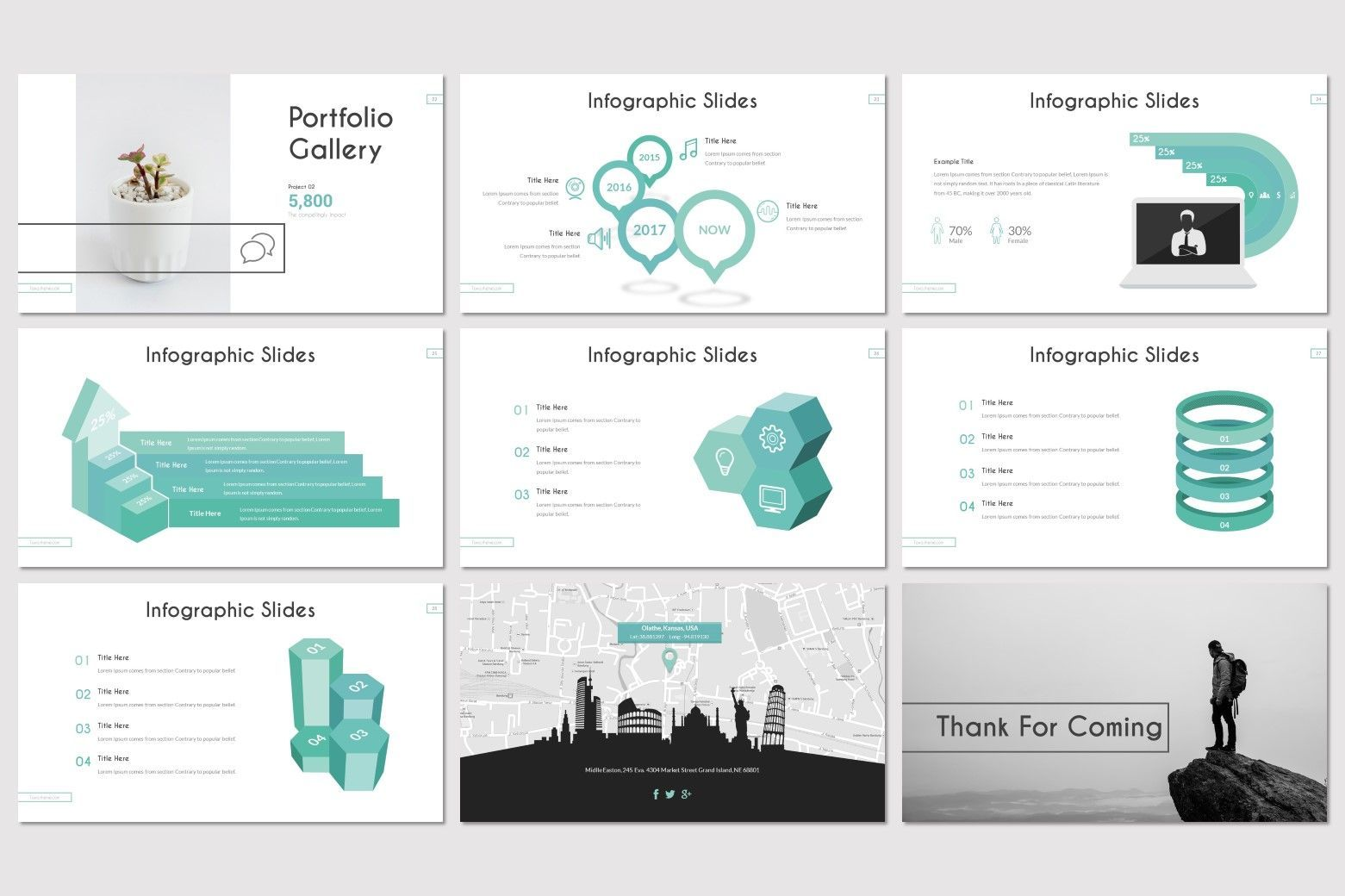 Toxa - PowerPoint Template, Slide 5, 08616, Presentation Templates — PoweredTemplate.com