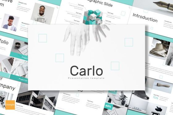 Presentation Templates: Carlo - Google Slides Template #08618