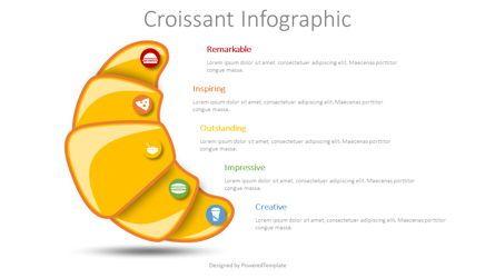 Infographics: Croissant Infographic #08620