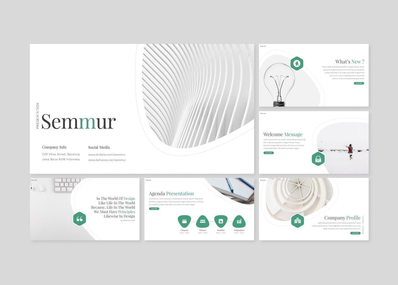 Semmur - PowerPoint Template, Slide 2, 08622, Presentation Templates — PoweredTemplate.com