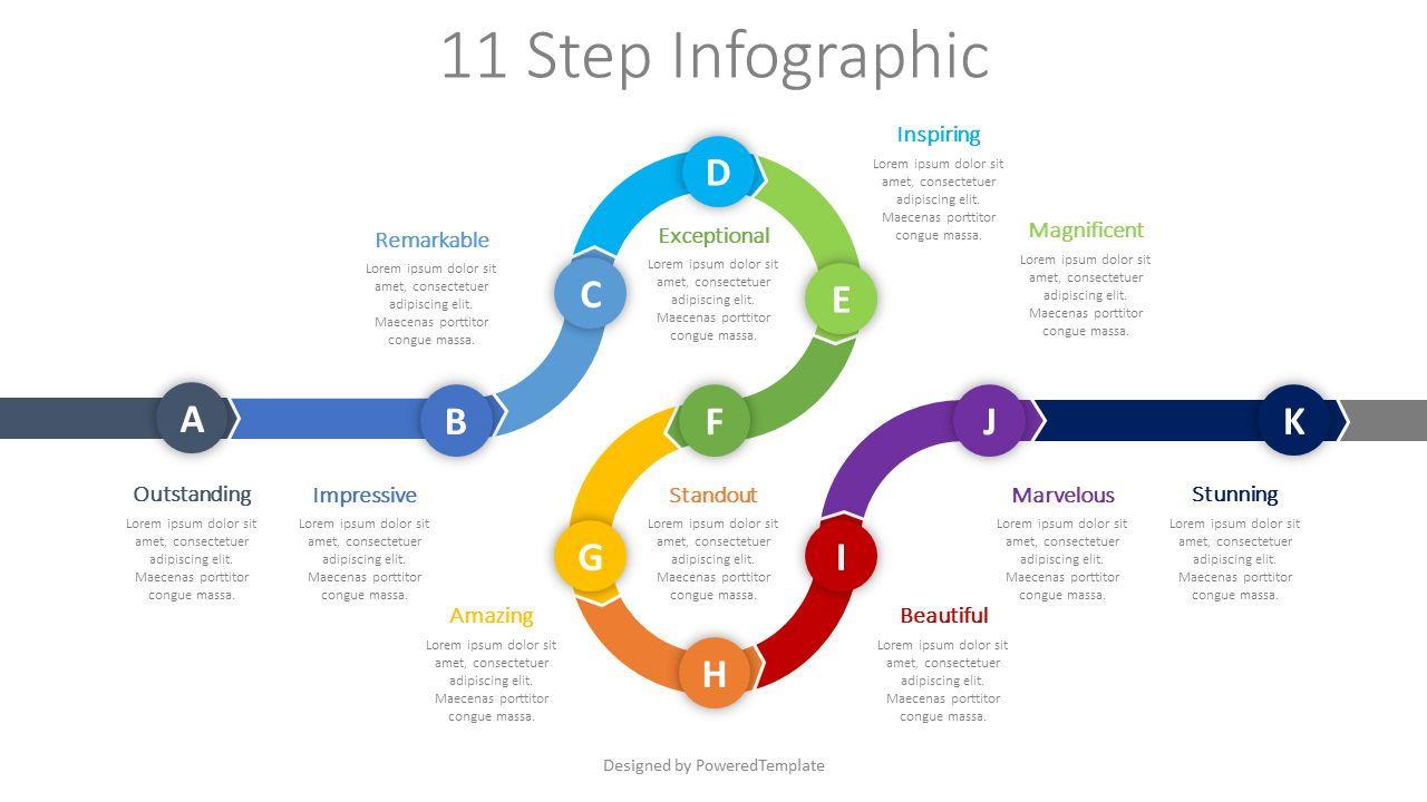 Roadmap Timeline Infographic, 08623, Infographics — PoweredTemplate.com