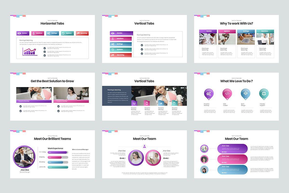 Basic Powerpoint Presentation, Slide 3, 08627, Business Models — PoweredTemplate.com