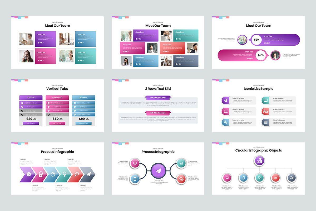 Basic Powerpoint Presentation, Slide 4, 08627, Business Models — PoweredTemplate.com