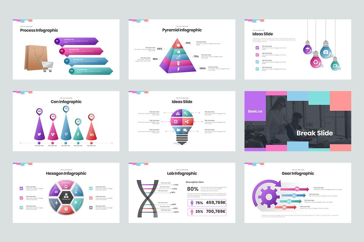 Basic Powerpoint Presentation, Slide 5, 08627, Business Models — PoweredTemplate.com