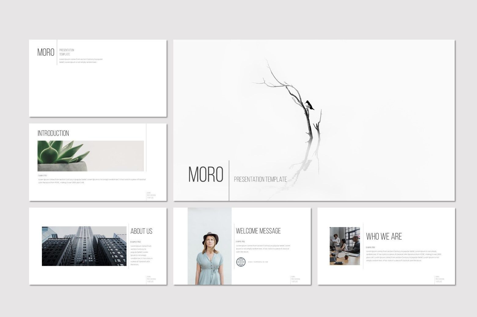Moro - Keynote Template, Slide 2, 08634, Presentation Templates — PoweredTemplate.com