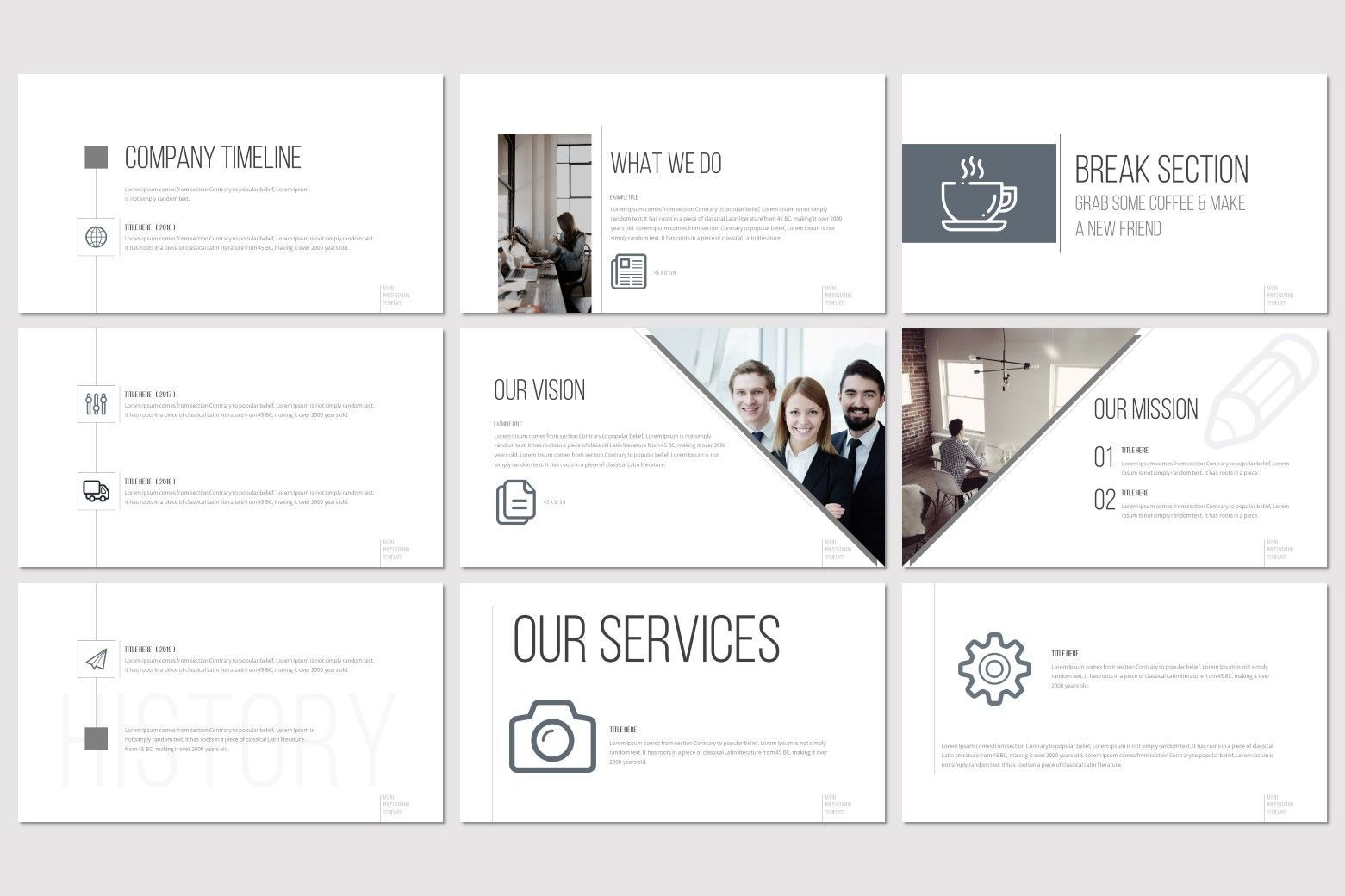 Moro - Keynote Template, Slide 3, 08634, Presentation Templates — PoweredTemplate.com