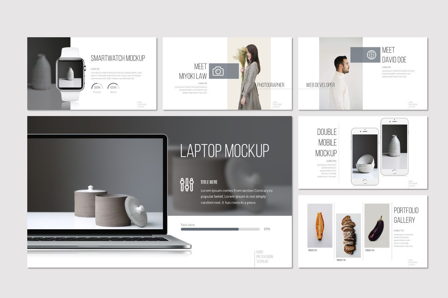 Moro - Keynote Template, Slide 4, 08634, Presentation Templates — PoweredTemplate.com