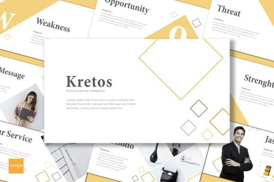 Presentation Templates: Kretos - Google Slides Template #08637