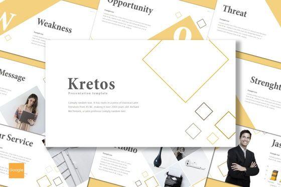 Presentation Templates: Kretos - Google Slides Template #08637