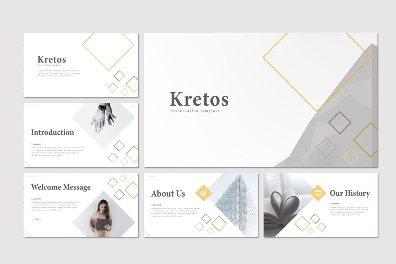 Kretos - Google Slides Template, Slide 2, 08637, Presentation Templates — PoweredTemplate.com