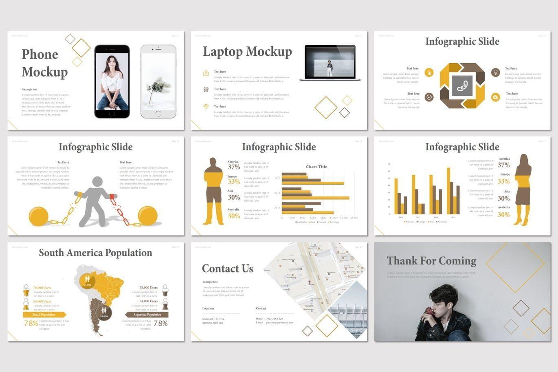 Kretos - Google Slides Template, Slide 5, 08637, Presentation Templates — PoweredTemplate.com