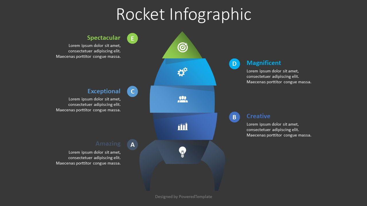 Spaceship Infographic, Slide 2, 08638, Infographics — PoweredTemplate.com