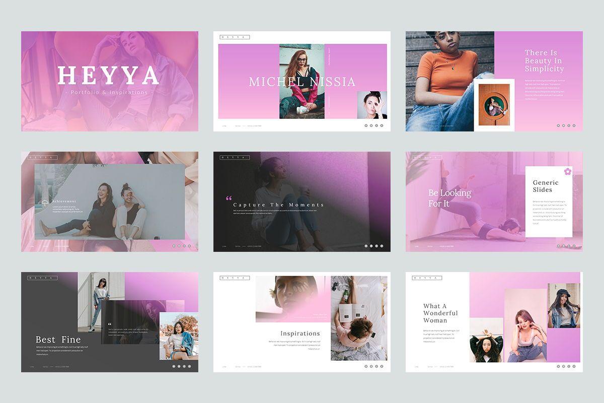 Heyya Powerpoint Presentation, Slide 2, 08639, Icons — PoweredTemplate.com
