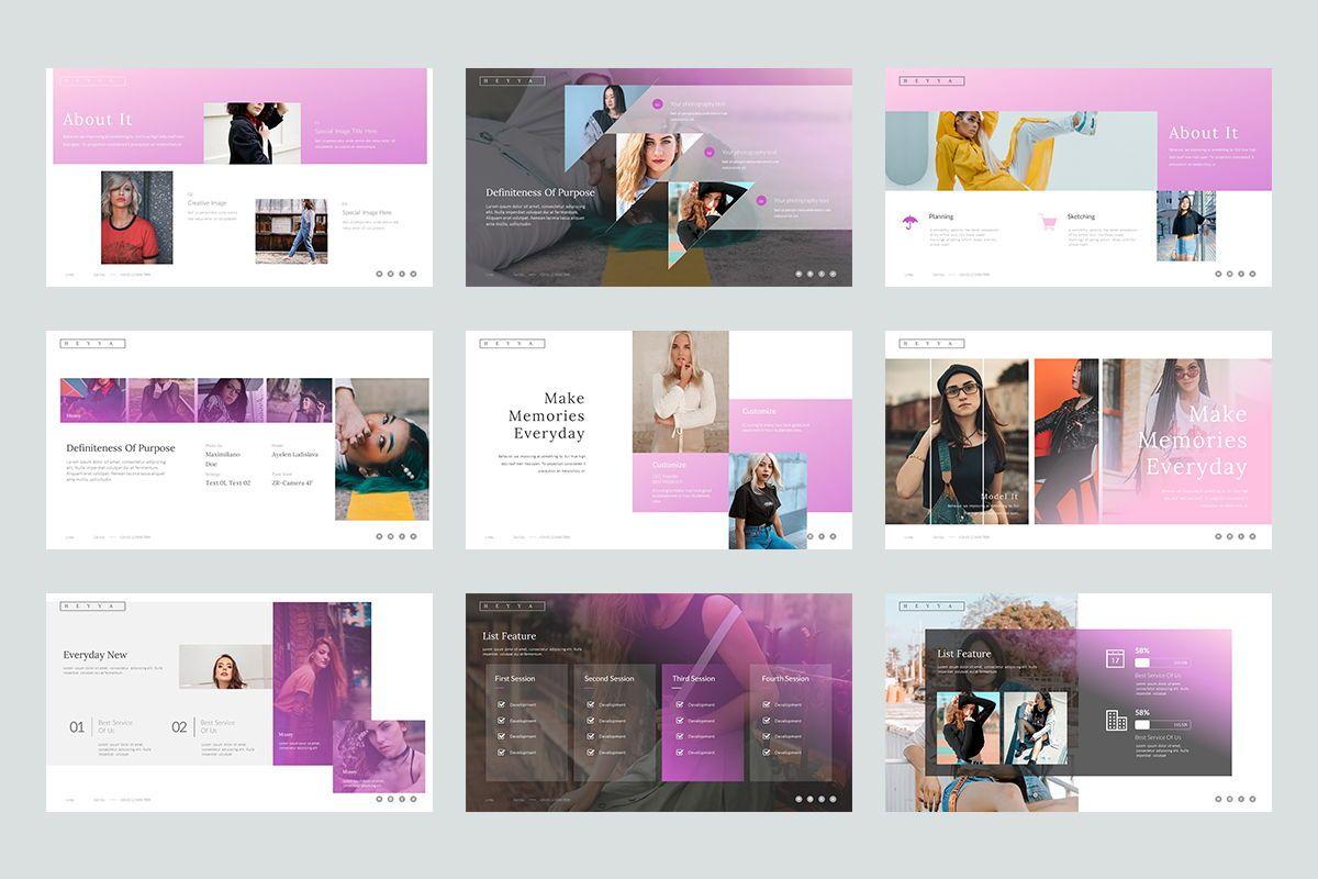 Heyya Powerpoint Presentation, Slide 3, 08639, Icons — PoweredTemplate.com