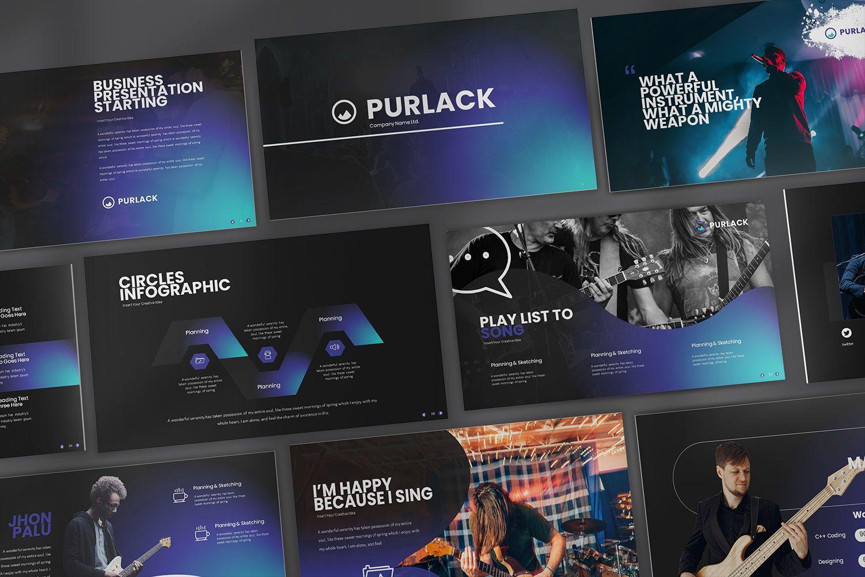 Purlack Powerpoint Presentation, 08640, Business Models — PoweredTemplate.com