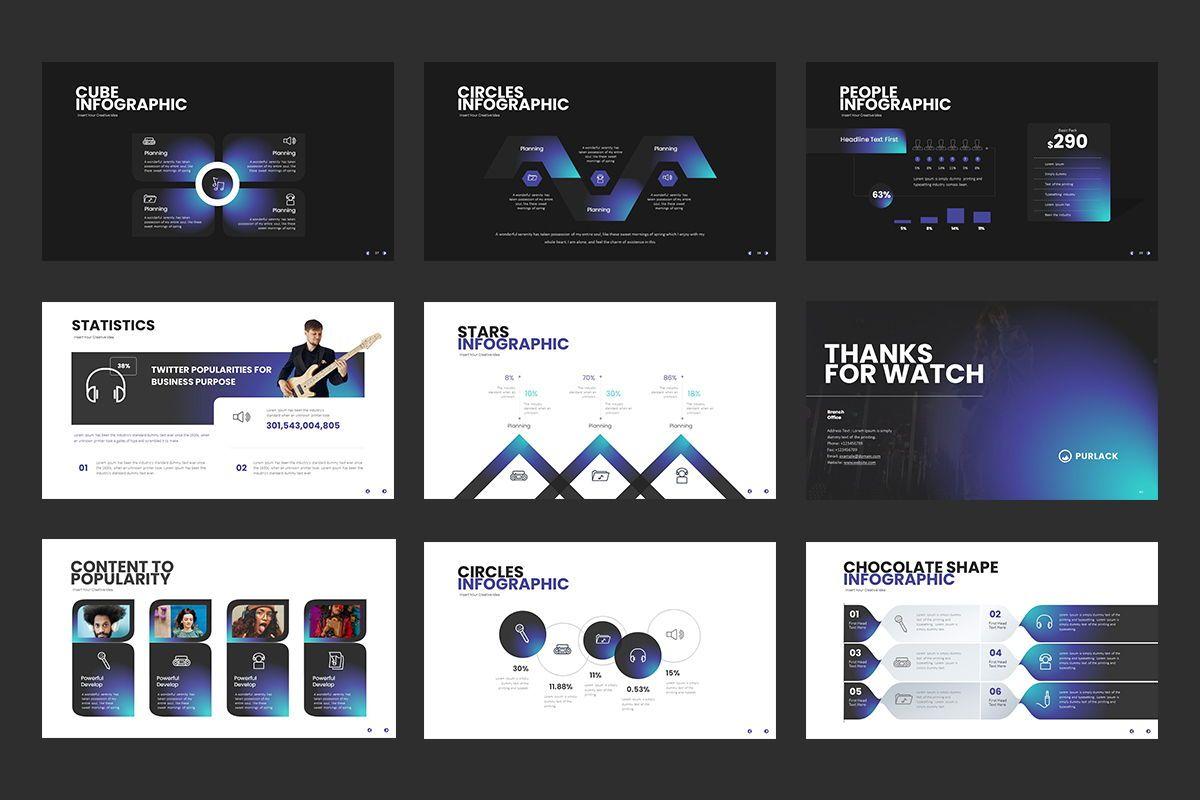 Purlack Powerpoint Presentation, Slide 6, 08640, Business Models — PoweredTemplate.com