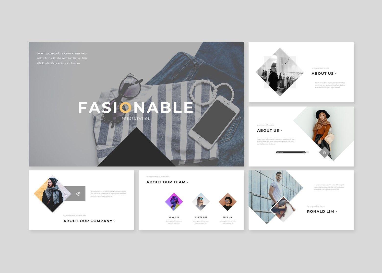 Fasionable – Creative Google Slide Business Template, Slide 2, 08642, Business Models — PoweredTemplate.com