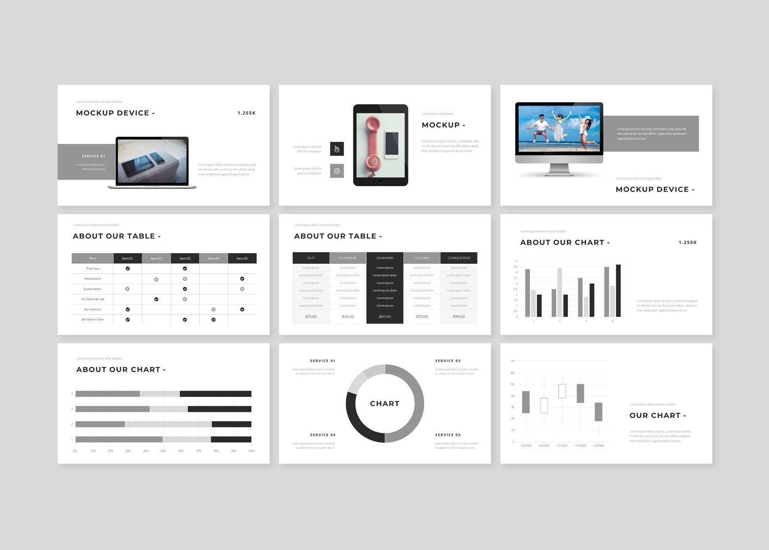 Fasionable – Creative Google Slide Business Template, Slide 4, 08642, Business Models — PoweredTemplate.com