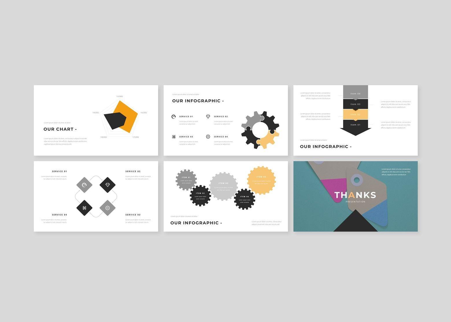 Fasionable – Creative Google Slide Business Template, Slide 5, 08642, Business Models — PoweredTemplate.com