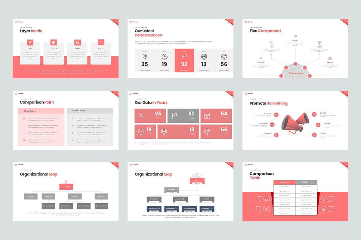 Finance Keynote Templates, Slide 5, 08643, Business Models — PoweredTemplate.com