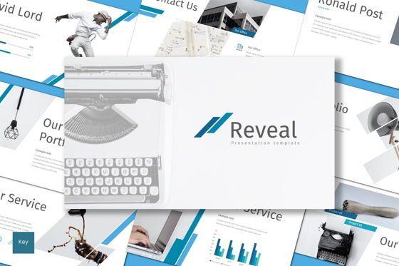Presentation Templates: Reveal - Keynote Template #08651