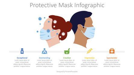 Infographics: Protective Mask Infogrpahic #08653