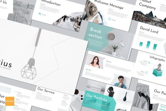 Presentation Templates: Crius - Google Slides Template #08658