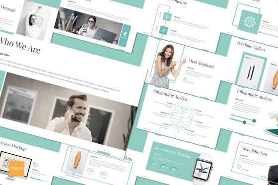 Presentation Templates: Logic - Google Slides Template #08660