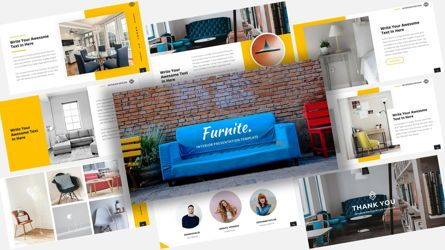 Business Models: Furnite - Interior Design PowerPoint Template #08666