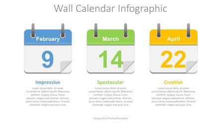 Timelines & Calendars: Wall Calendar Concept #08671