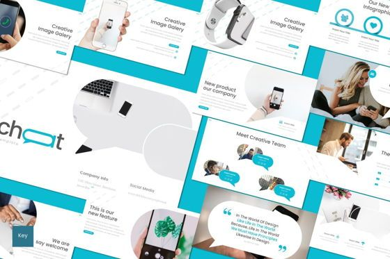 Presentation Templates: Chichat - Keynote Template #08680
