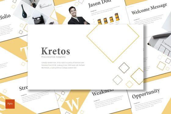 Presentation Templates: Kretos - PowerPoint Template #08682