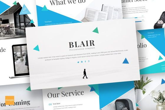 Presentation Templates: Blair - Google Slides Template #08685