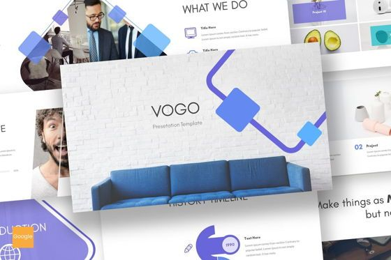 Presentation Templates: Vogo - Google Slides Template #08686
