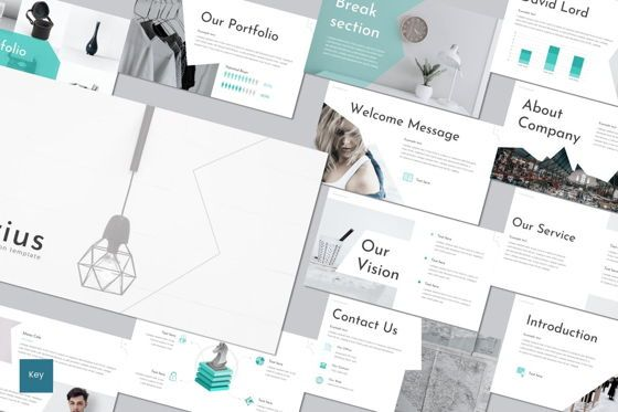 Presentation Templates: Crius - Keynote Template #08690