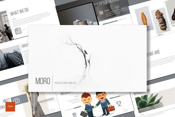 Presentation Templates: Moro - PowerPoint Template #08698