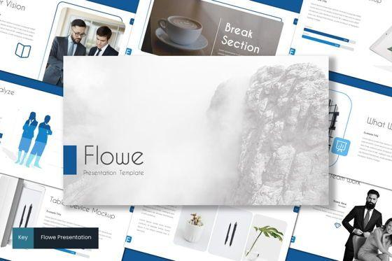 Presentation Templates: Flowe - Keynote Template #08699