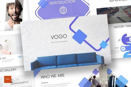 Presentation Templates: Vogo - PowerPoint Template #08701