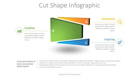 Infographics: Divided Shape Infographic #08703