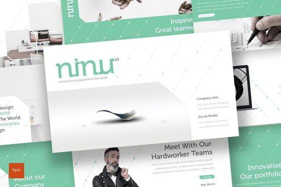 Presentation Templates: Ninu - PowerPoint Template #08704