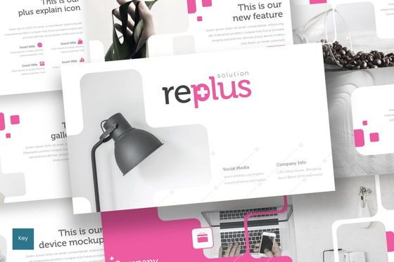 Presentation Templates: Replus - Keynote Template #08707